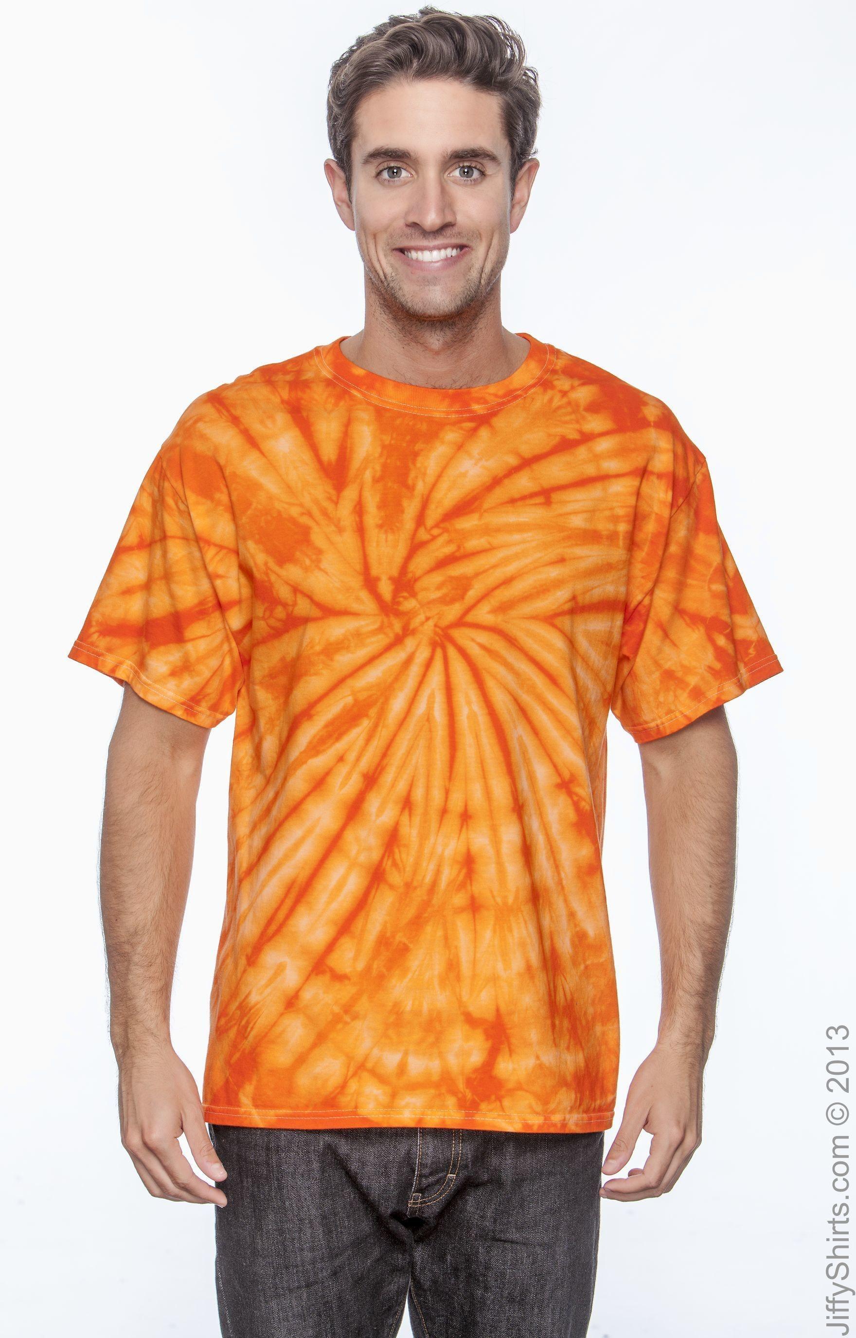 Tie-Dye CD101 Spider Orange