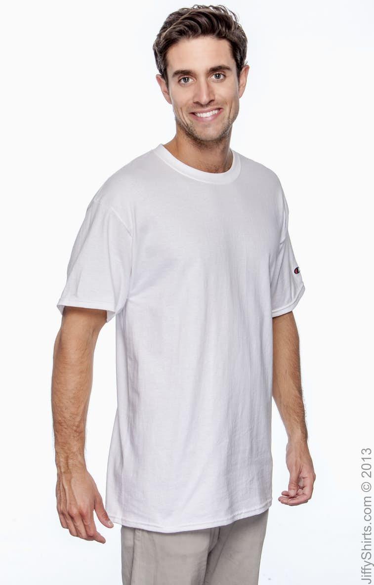 efd67e417 Champion T525C Adult 6 oz. Short-Sleeve T-Shirt - JiffyShirts.com