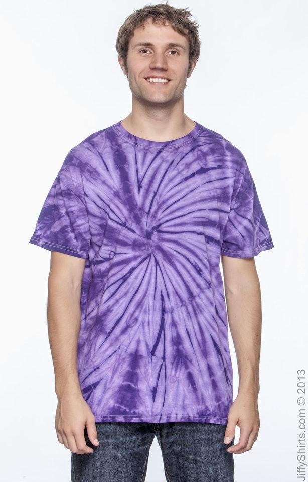 Tie-Dye CD101 Spider Purple