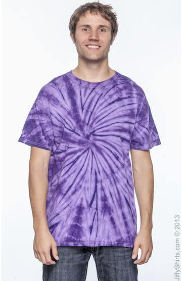 Tie-Dye CD101 Spider Purple