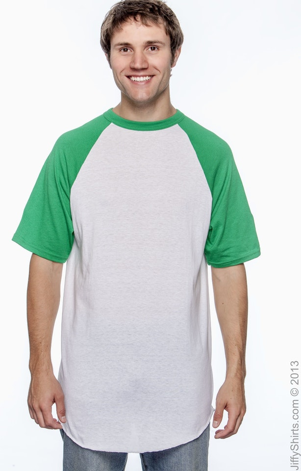 Augusta Sportswear 423 White/Kelly