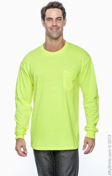 Gildan G241 High Viz Safety Green