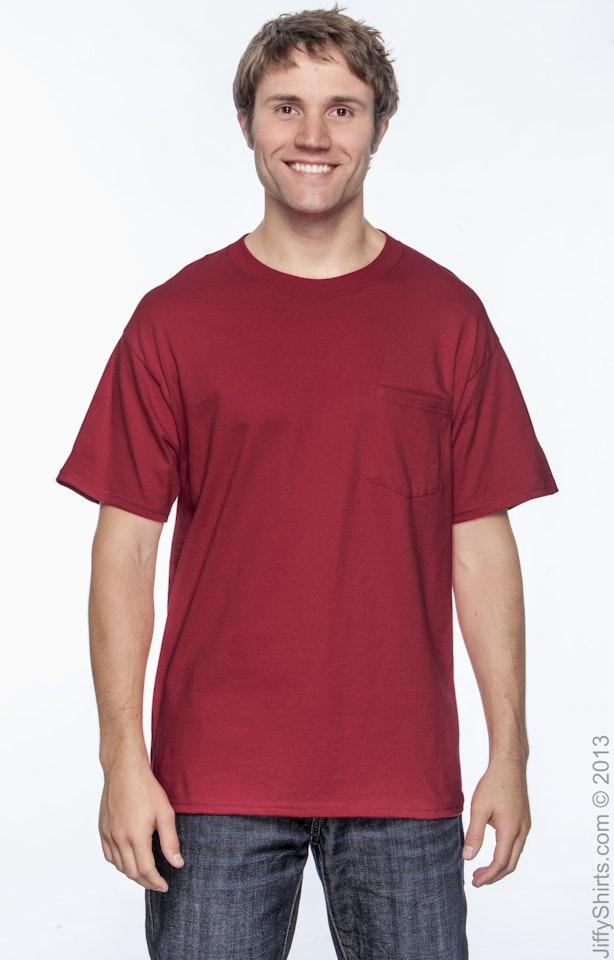 Hanes 5190P Deep Red