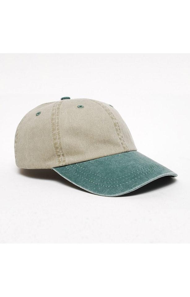 Pacific Headwear 0300PH Sand/Hunter