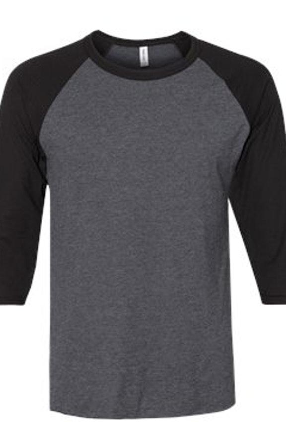 ce9db93d Jerzees 560RR Adult 5.2 oz., Premium Blend Ring-Spun Raglan Baseball T-Shirt  - JiffyShirts.com