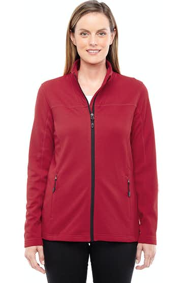 Ash City - North End 78229 Classic Red/Black