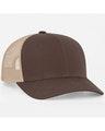 Pacific Headwear 0104PH Brown/Khaki