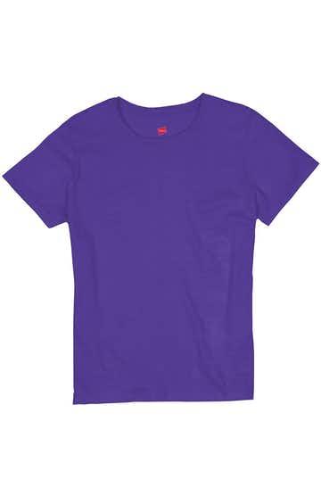 Hanes 5680 Purple