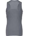 Augusta Sportswear 2437AG Graphite / White