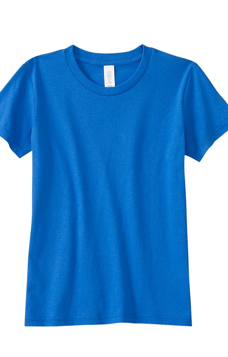 55718229 Bella+Canvas 3001Y Youth Jersey Short-Sleeve T-Shirt - JiffyShirts.com