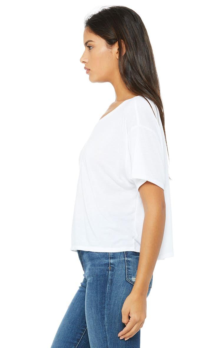 ed28d254f Bella+Canvas B8881 Ladies' Flowy Boxy T-Shirt - JiffyShirts.com