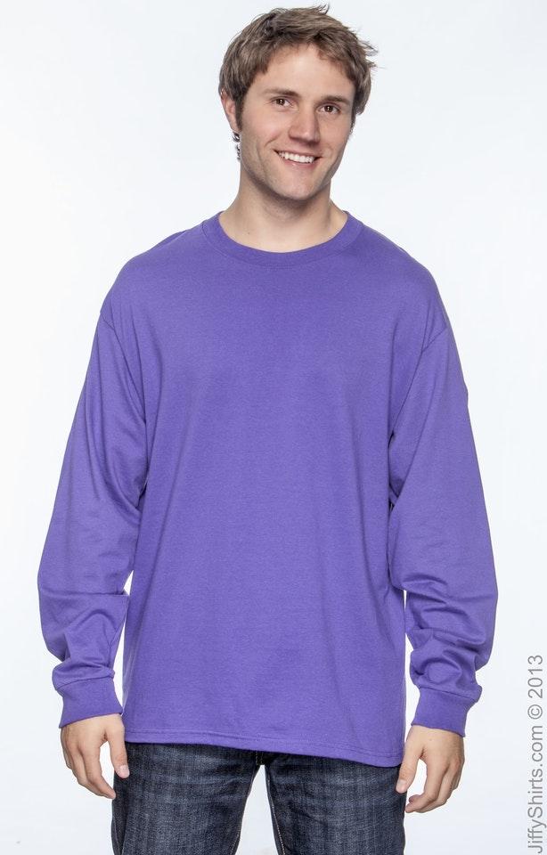 Hanes 5186 Purple