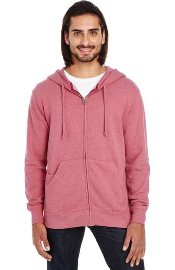 Threadfast Apparel 321Z Cardinal Heather
