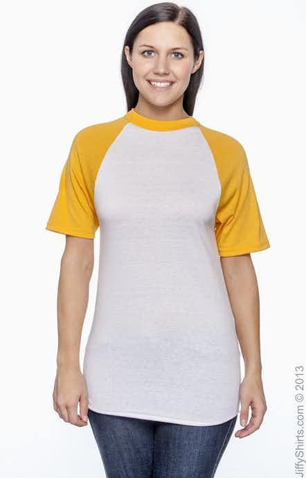 Augusta Sportswear 423 White/Gold