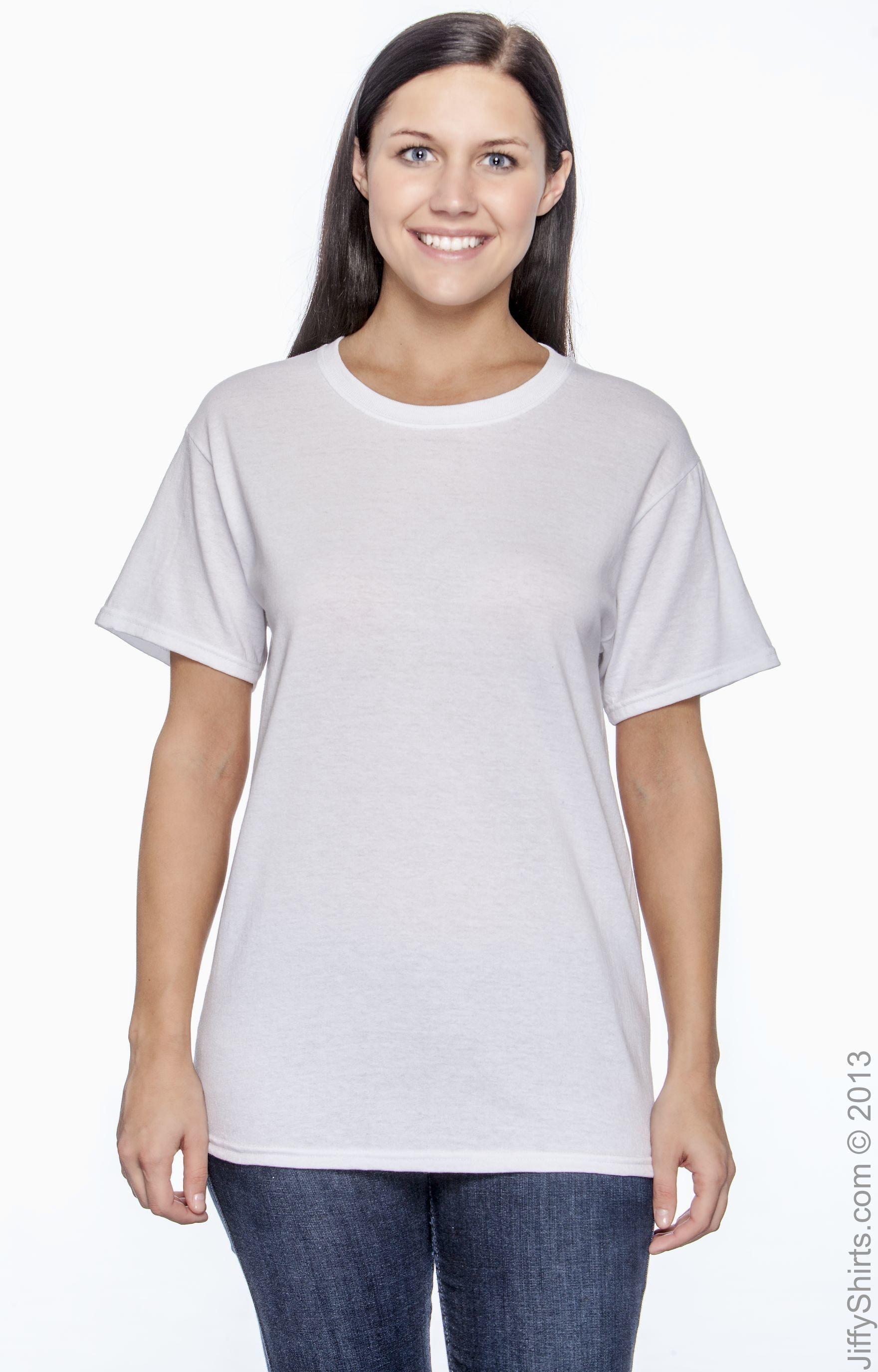 Hanes 5170 White
