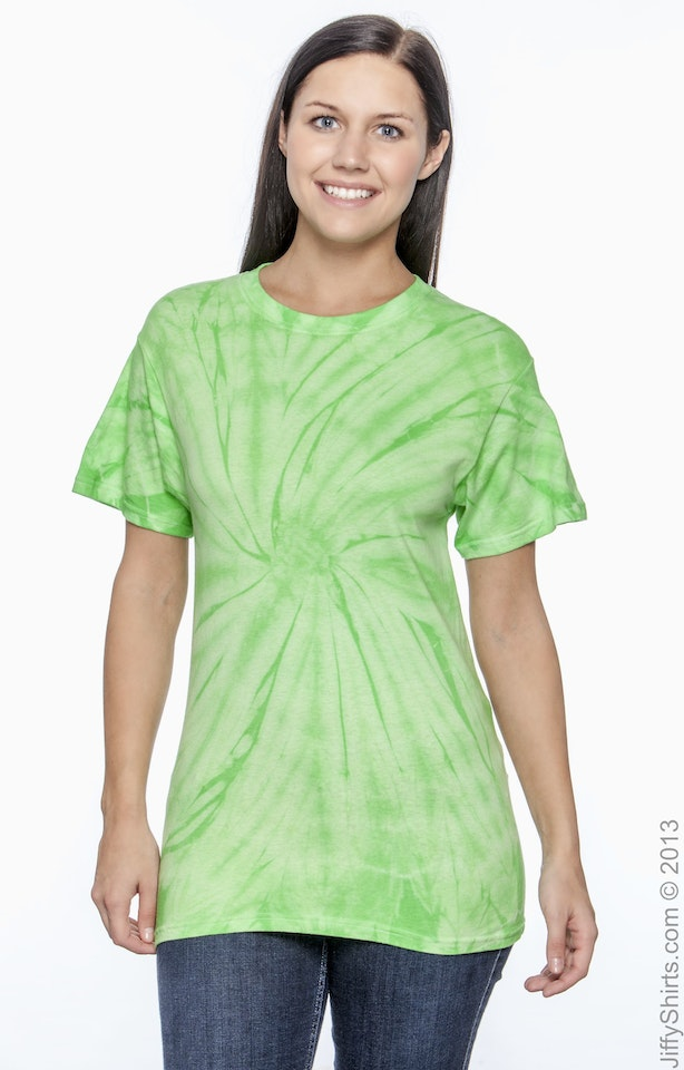 Tie-Dye CD101 Spider Lime
