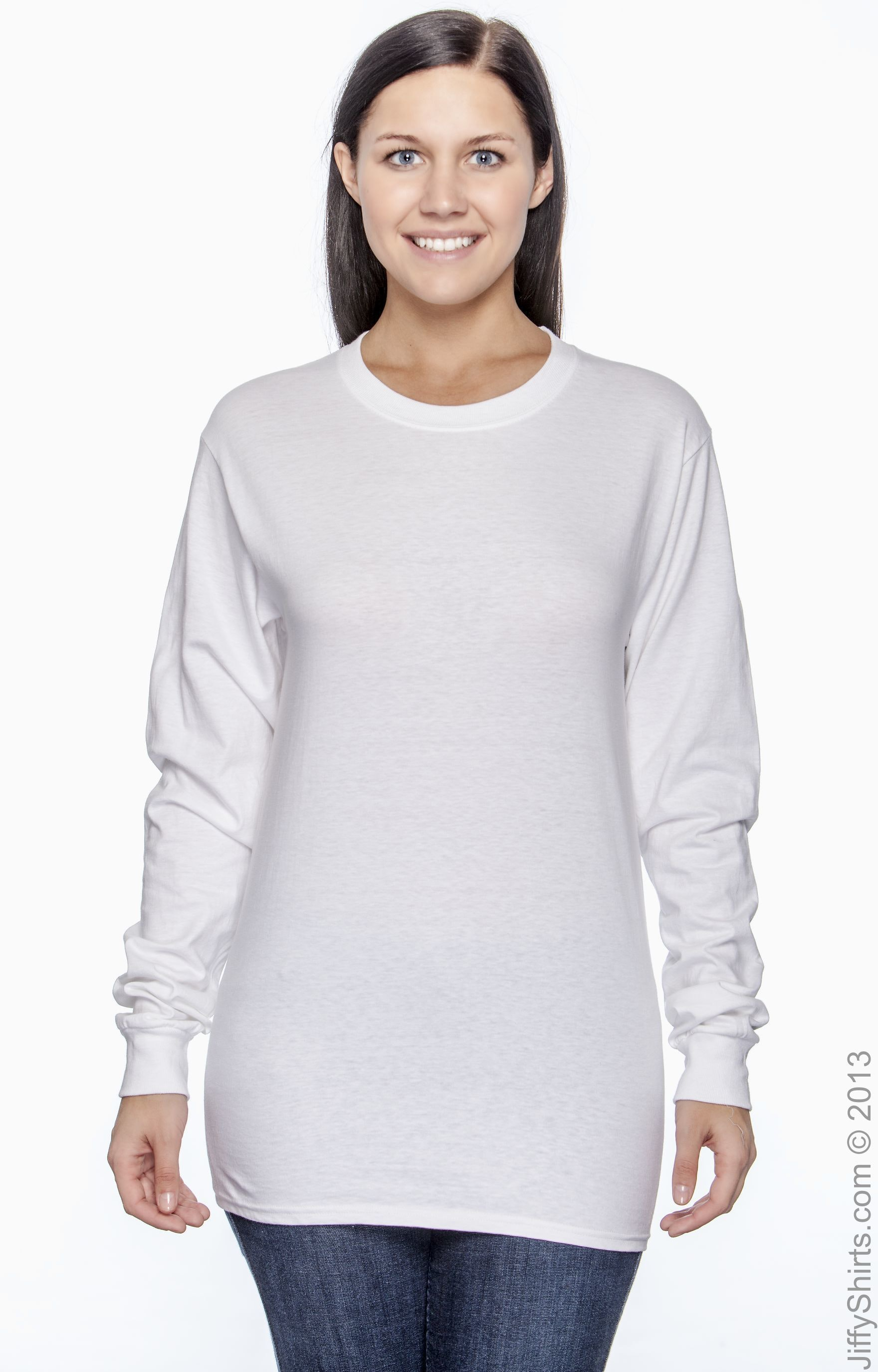 Hanes 5186 White