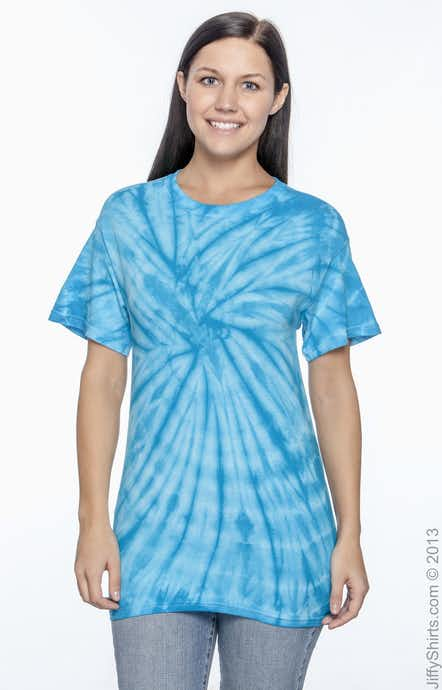 Tie-Dye CD101 Spider Turquoise