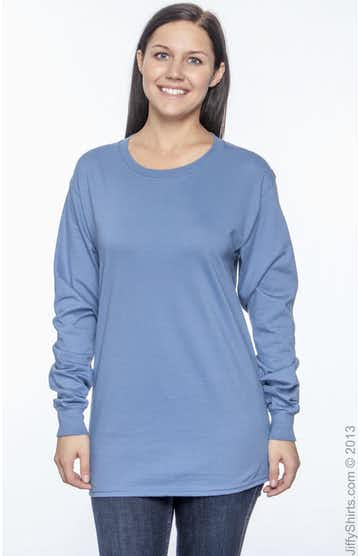 Hanes 5186 Denim Blue