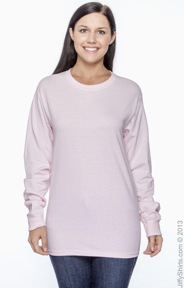 Hanes 5586 Pale Pink