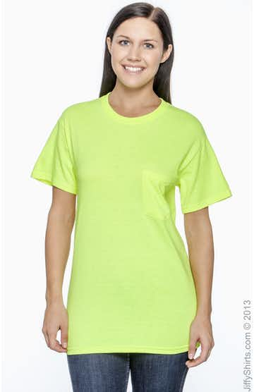 Gildan G230 High Viz Safety Green