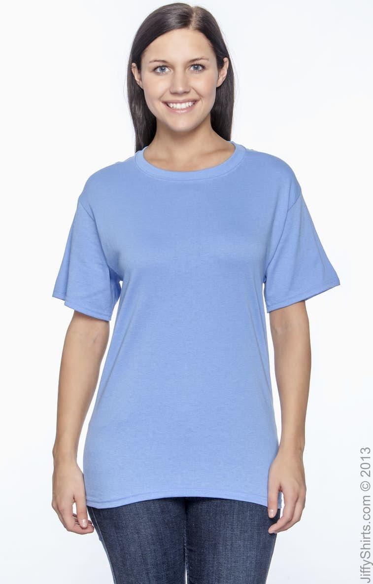 292069e2 Hanes 5170 Adult 5.2 oz., 50/50 EcoSmart® T-Shirt - JiffyShirts.com