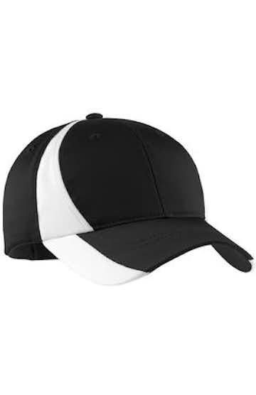 Sport-Tek STC11 Black / White
