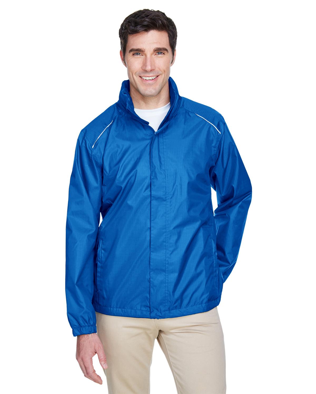 X-Large, White Ash City Mens Climate Ripstop Jacket