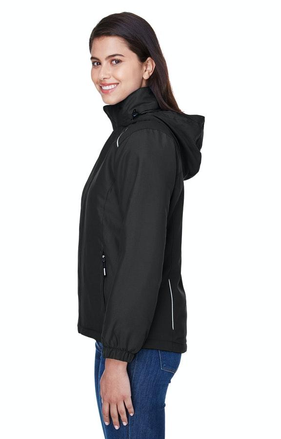 c99ef8ff4b5 Ash City - Core 365 78189 Black Ladies' Brisk Insulated Jacket