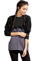 Soffe S5353VP Black / Gray Heather