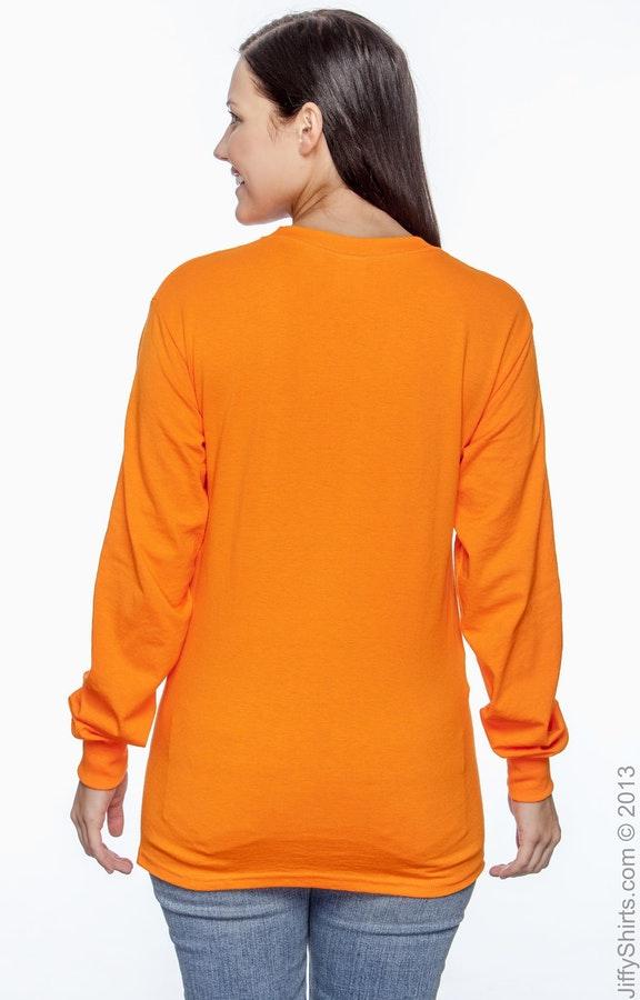1e59c8fc8eebb3 Gildan G241 Adult Ultra Cotton® 6 oz. Long-Sleeve Pocket T-Shirt ...