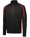 Sport-Tek ST851 Black / True Red