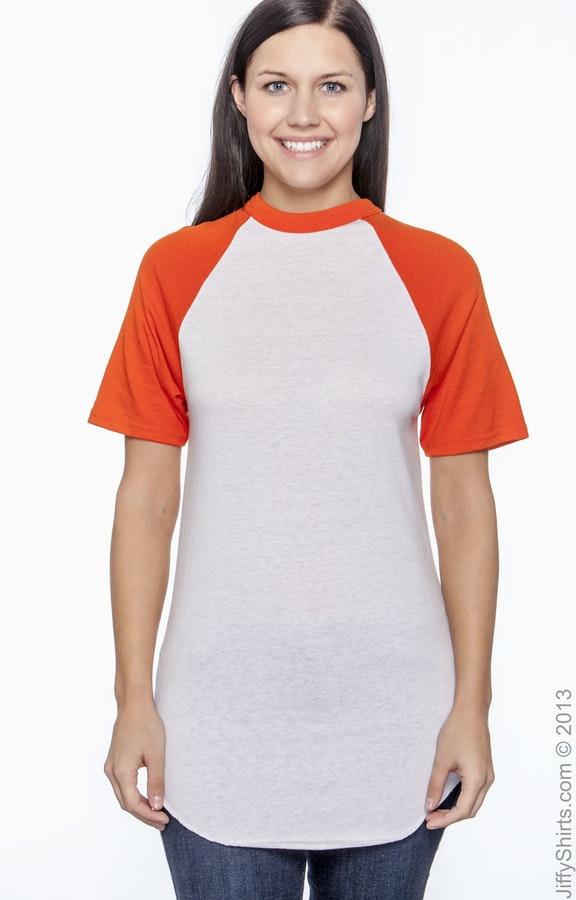 Augusta Sportswear 423 White/Orange