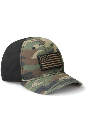 Dri Duck 3353 Green Camo/ Black