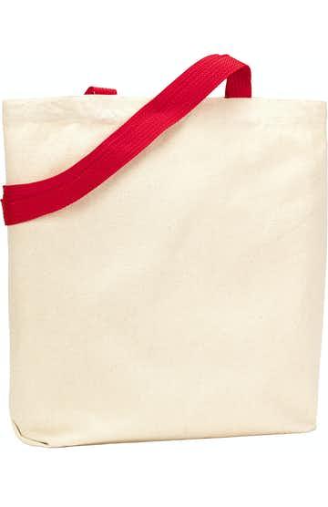 Liberty Bags 9868 Natural/Red