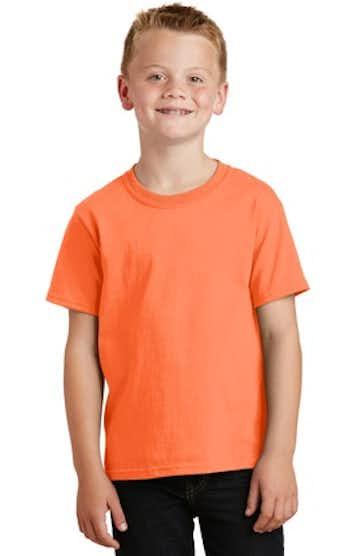 Port & Company PC54Y Neon Orange