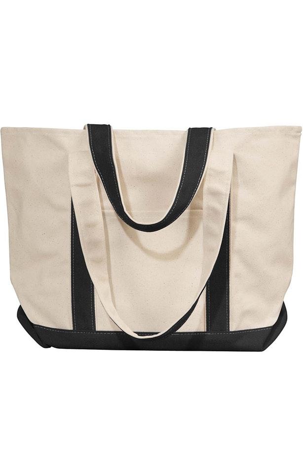 Liberty Bags 8871 Natural/Black