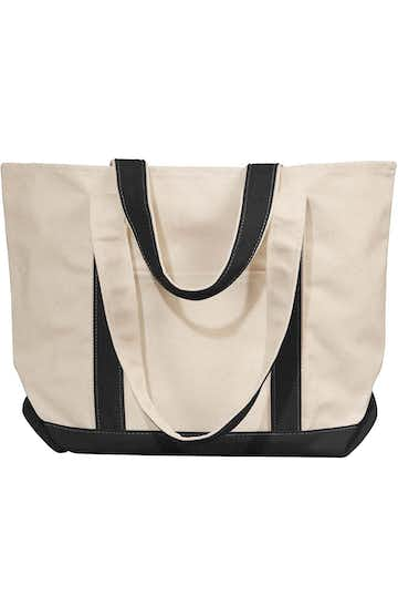 Liberty Bags 8871 Natural/Black