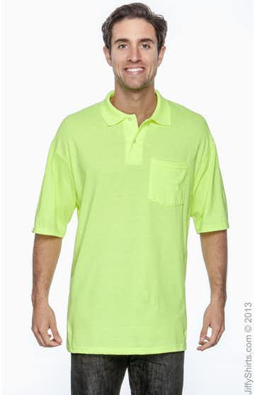 Jerzees 436P High Viz Safety Green