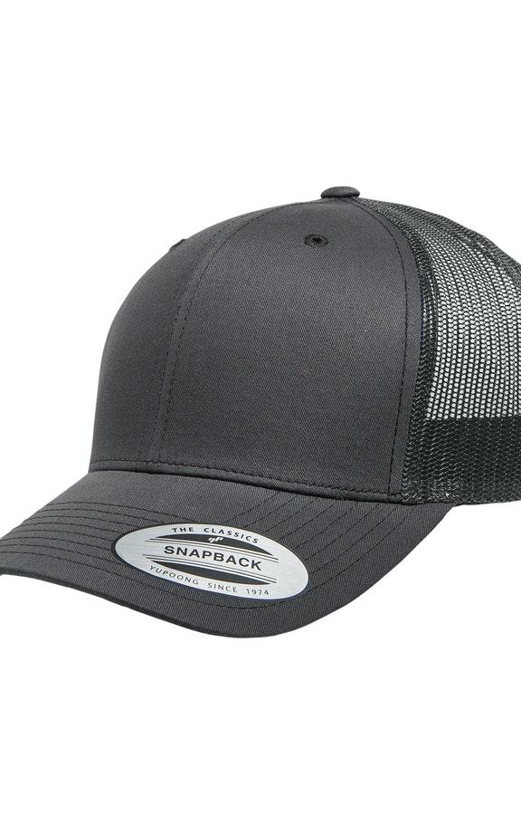 Yupoong 6606 Charcoal