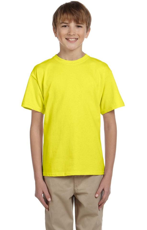 Fruit of the Loom 3931B Neon Yellow
