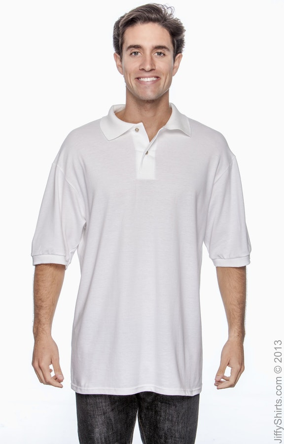 c4dd85b3 Jerzees 440 Men's 6.5 oz. Ringspun Cotton Piqué Polo - JiffyShirts.com