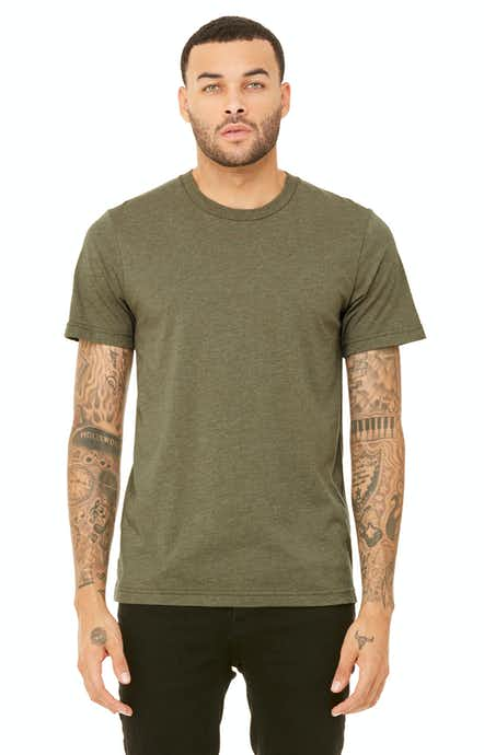Bella+Canvas 3001C Heather Olive