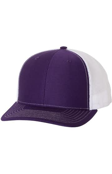 Richardson 112 Purple / White