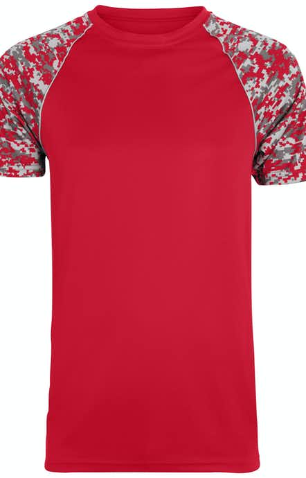 Augusta Sportswear 1782 Red/ Red Dg/ Slv