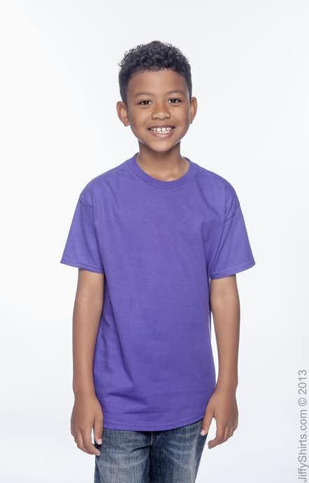 Hanes 54500 Purple