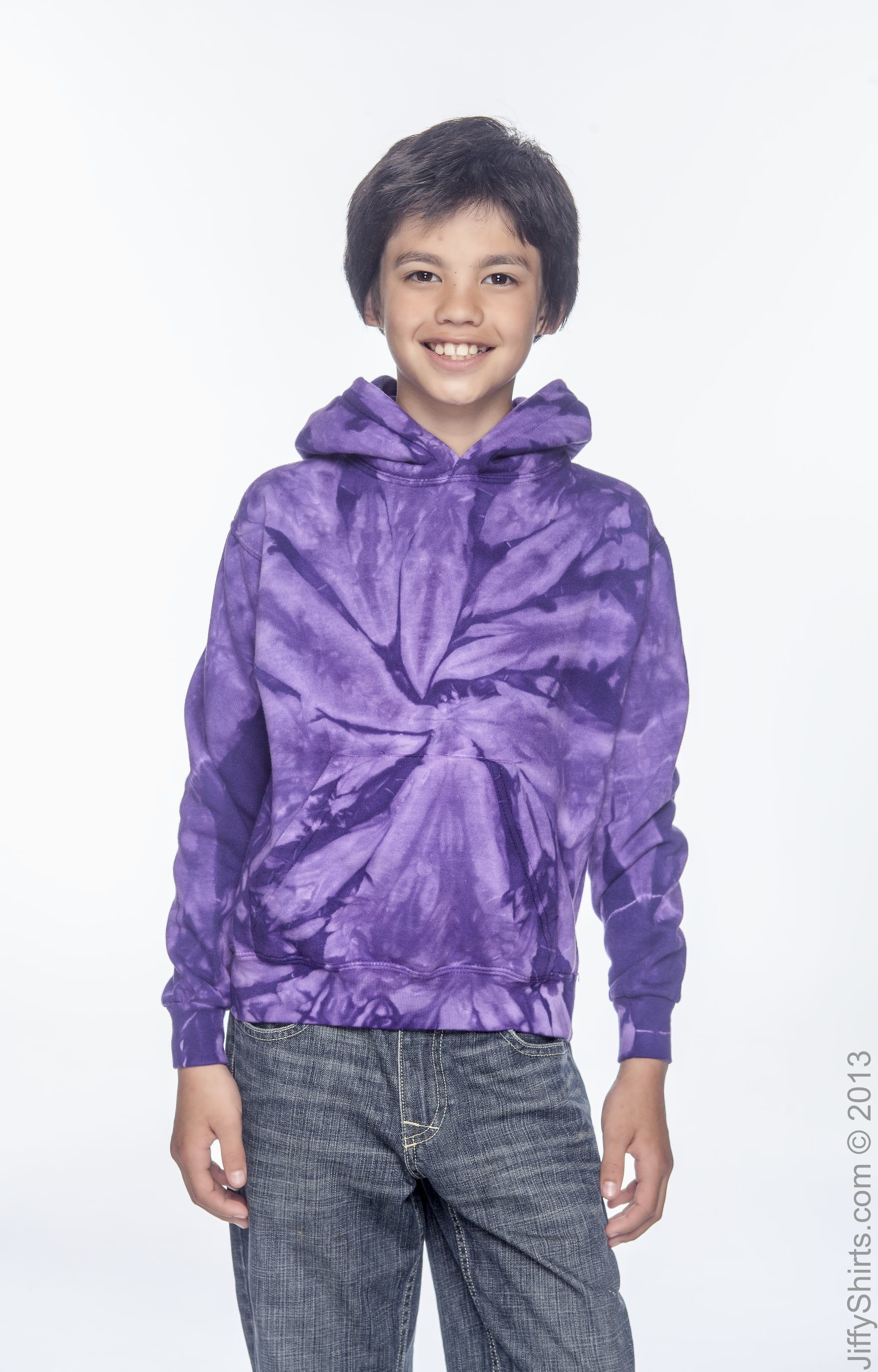 Tie-Dye CD877Y Spider Purple