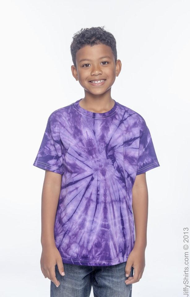 Tie-Dye CD101Y Spider Purple