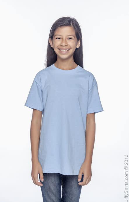 Hanes 5480 Light Blue