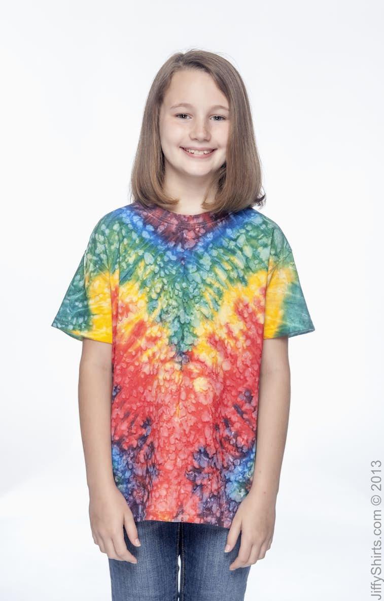 77395b9c5 Tie-Dye CD100Y Youth 5.4 oz. 100% Cotton T-Shirt - JiffyShirts.com
